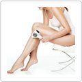 Flaunt smooth, perfect skin with Tria Beauty's hair removal system.