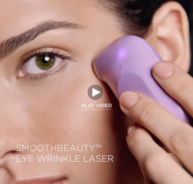 Eye Wrinkle Correcting Laser Video | Tria Beauty