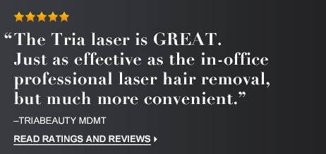 Hair Removal Laser Precision Review | Tria Beauty