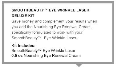 Eye Wrinkle Correcting Laser Deluxe Kit